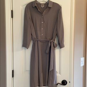 Anne Klein shirtdress. Size 12.
